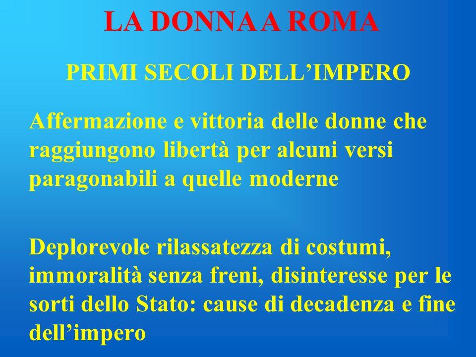 MODELLI COMPORTAMENTALI FEMMINILI Clodia: trasgressione o ribellione? Totale diversità rispetto al modello tradizionale della donna romana, come attes