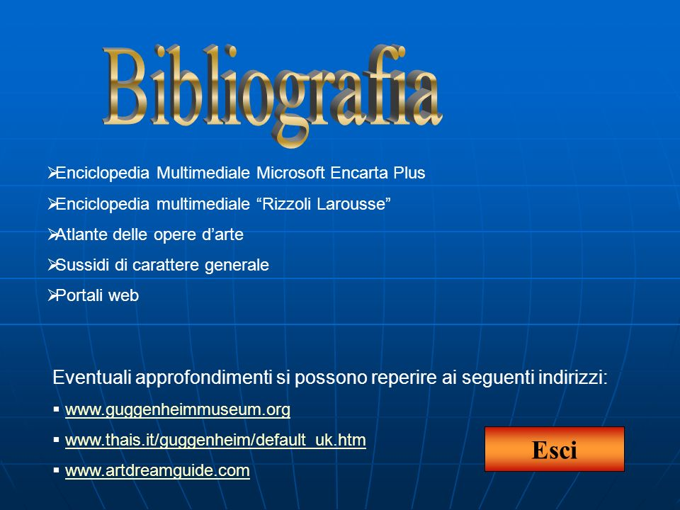 Enciclopedia Multimediale Microsoft Encarta Plus Enciclopedia multimediale Rizzoli Larousse Atlante delle opere darte Sussidi di carattere generale Po