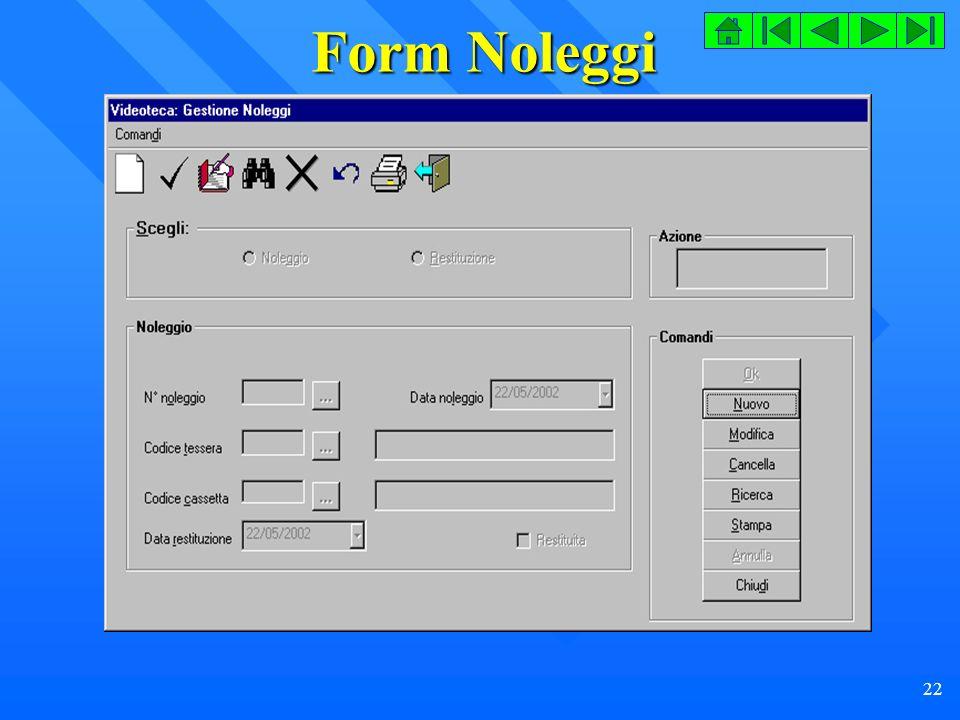22 Form Noleggi