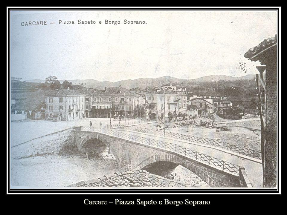Carcare – Piazza Sapeto e Borgo Soprano