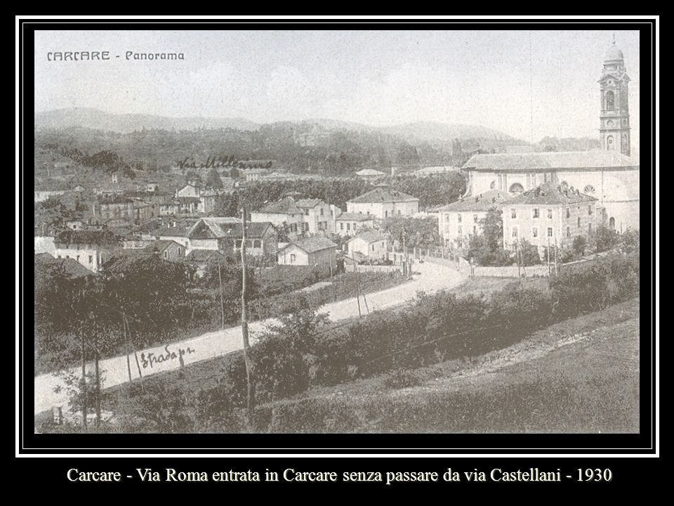 Carcare – Ponte, Municipio e Asilo – Primi anni del secolo