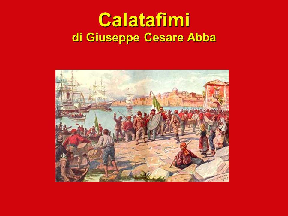Calatafimi di Giuseppe Cesare Abba