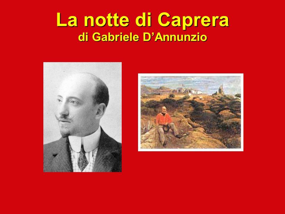 La notte di Caprera di Gabriele DAnnunzio
