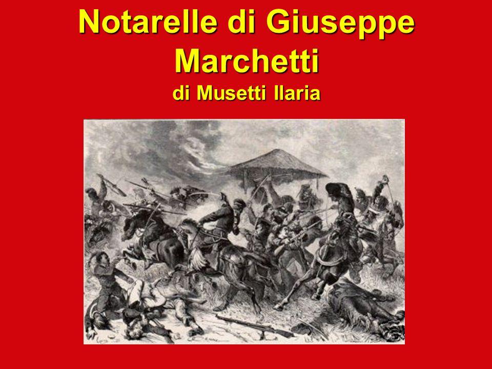 Notarelle di Giuseppe Marchetti di Musetti Ilaria
