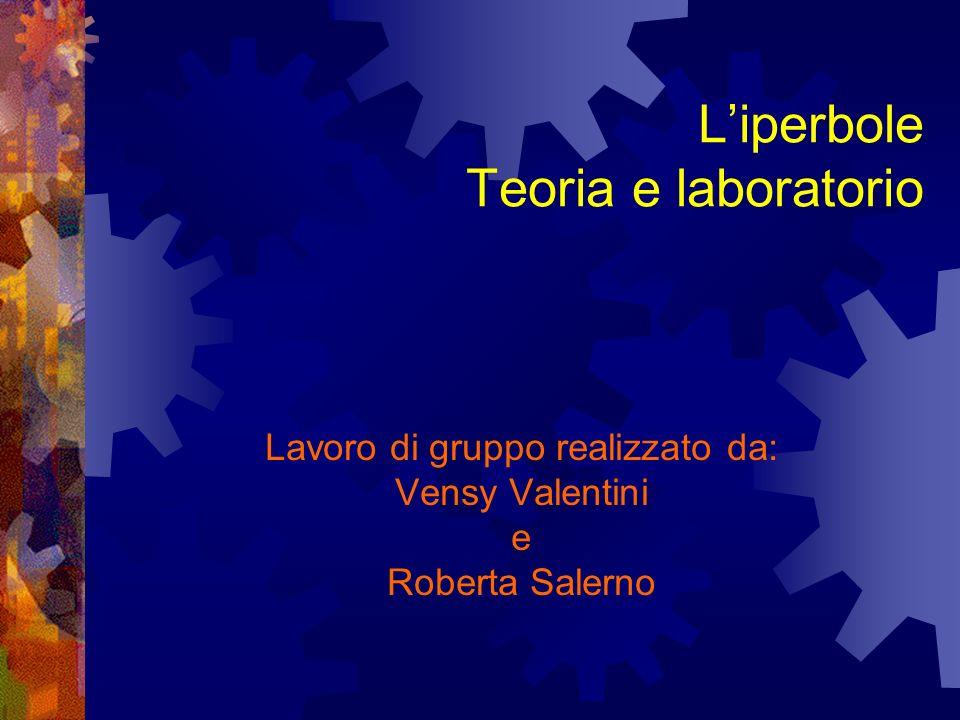 Liperbole Teoria e laboratorio Lavoro di gruppo realizzato da: Vensy Valentini e Roberta Salerno