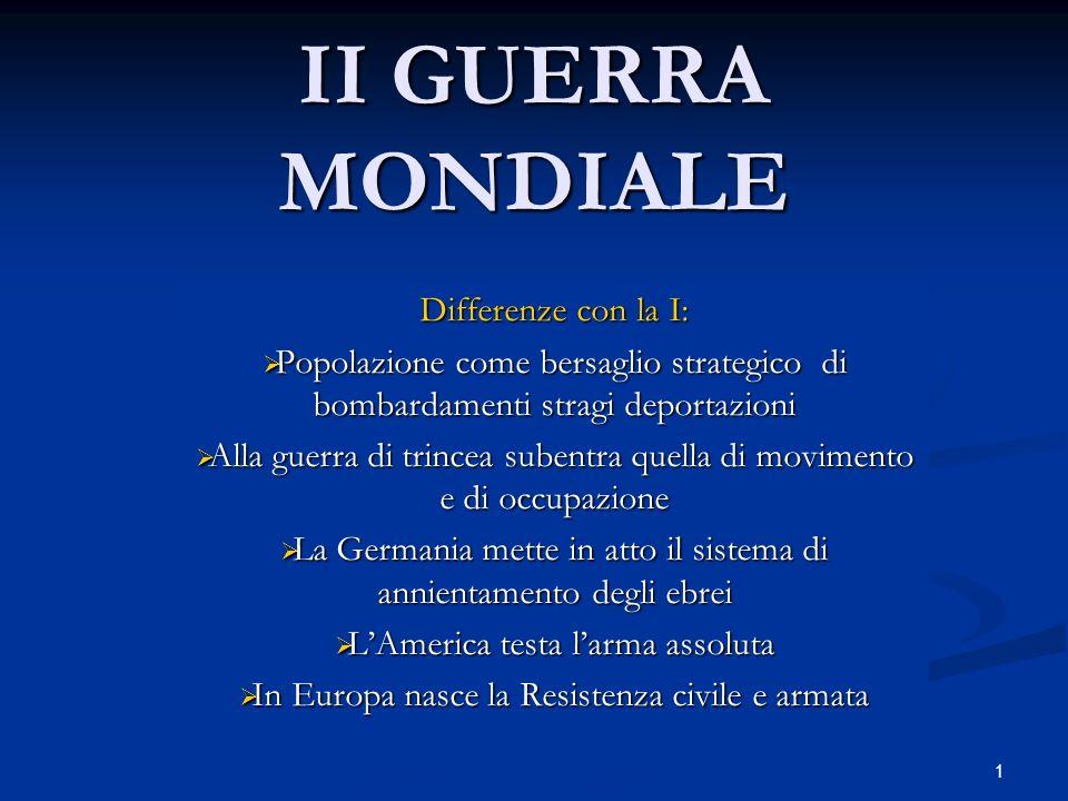 12 1945 CONFERENZA DI YALTA,febbraio, divisione della Gemania in zone di occupazione e dellEuropa in zone di influenza.