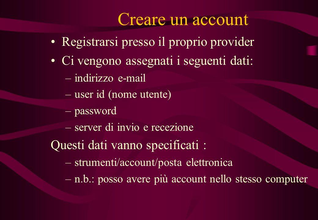Utilizzo posta elettronica: Con programmi appositi: –OUTLOOK EXPRESS –EUDORA Con i portali: –es. libero