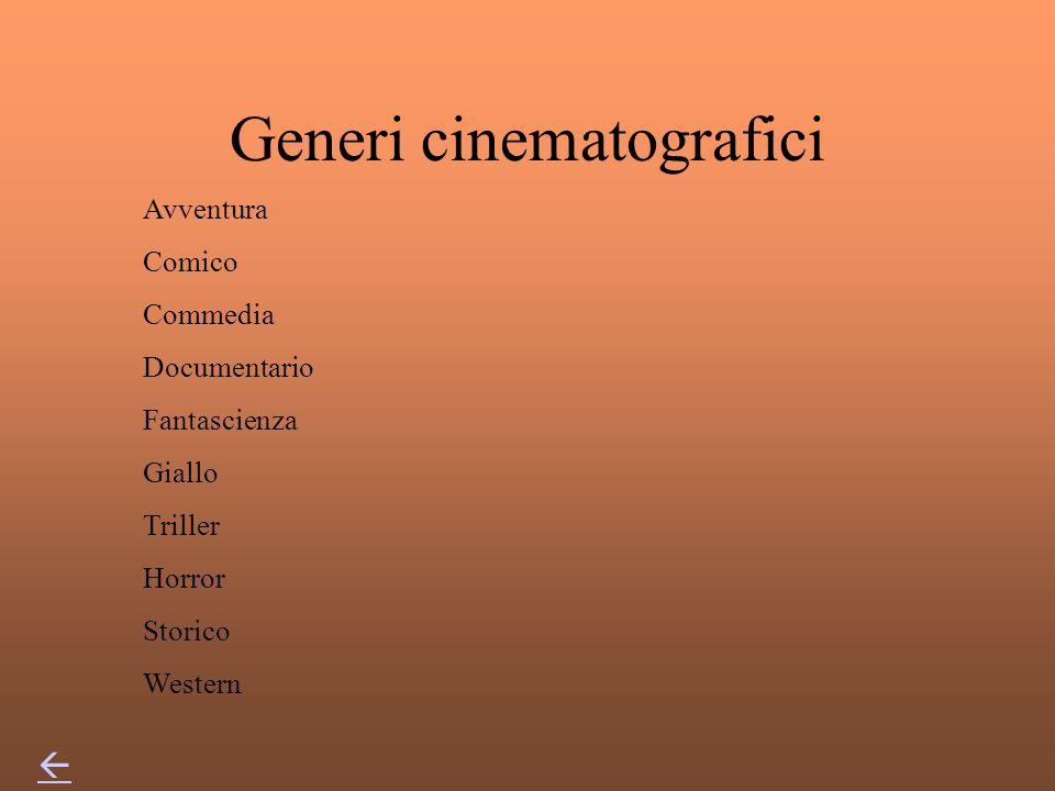 Cosè un film … è una serie di immagini (fotogrammi) impressionate fotograficamente su una pellicola. Oltre che da immagini un film è composto da dialo