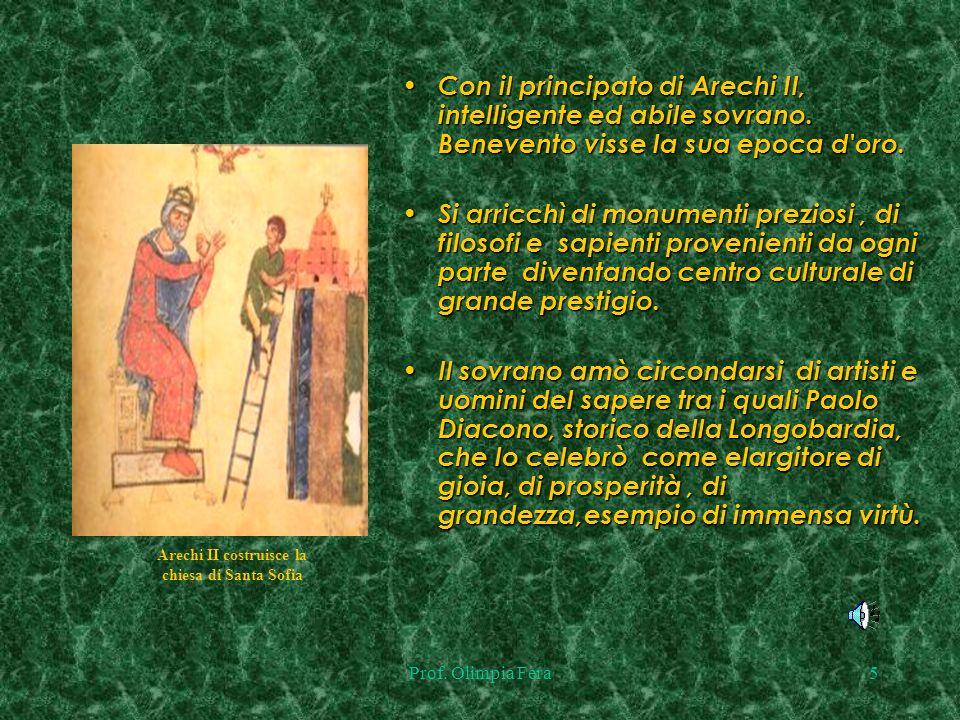 Prof.Olimpia Fera4 Fu durante il dominio longobardo che nacque la leggenda delle streghe.