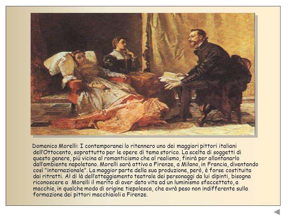 Giovanni Fattori, il maggior pittore della macchia e forse di tutto lottocento italiano, è anche colui che, meno di altri, segue teorie e programmi rigidi, guardando liberamente la natura e rappresentandola come la sente.