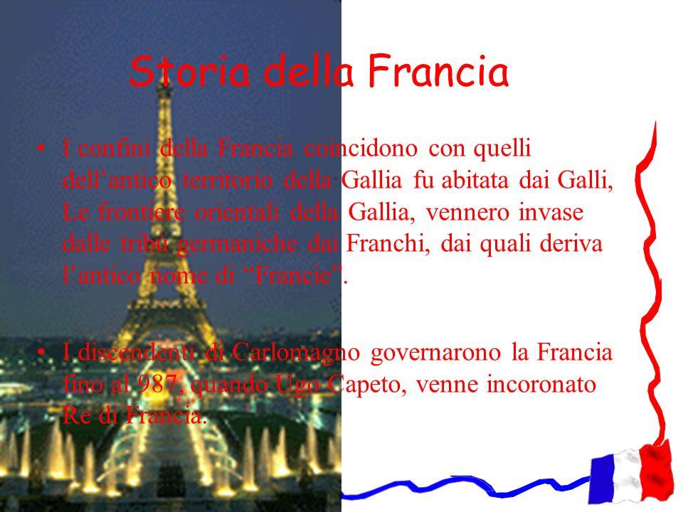 Storia della Francia I confini della Francia coincidono con quelli dellantico territorio della Gallia fu abitata dai Galli, Le frontiere orientali del