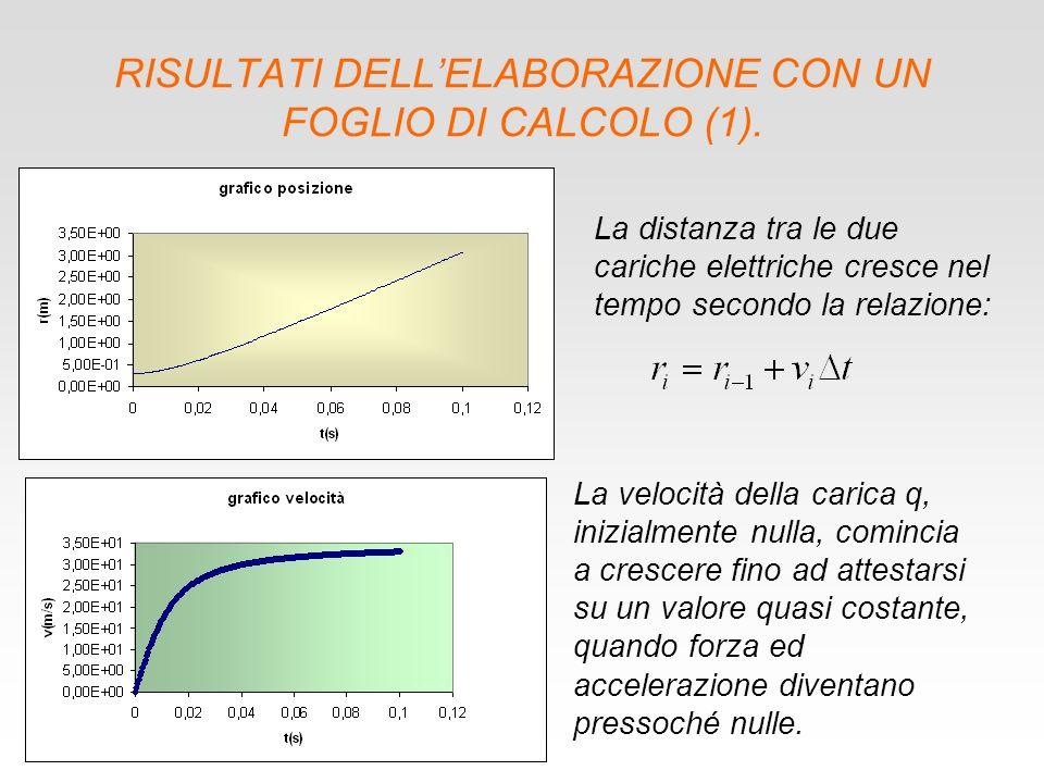 RISULTATI DELLELABORAZIONE CON UN FOGLIO DI CALCOLO (1).