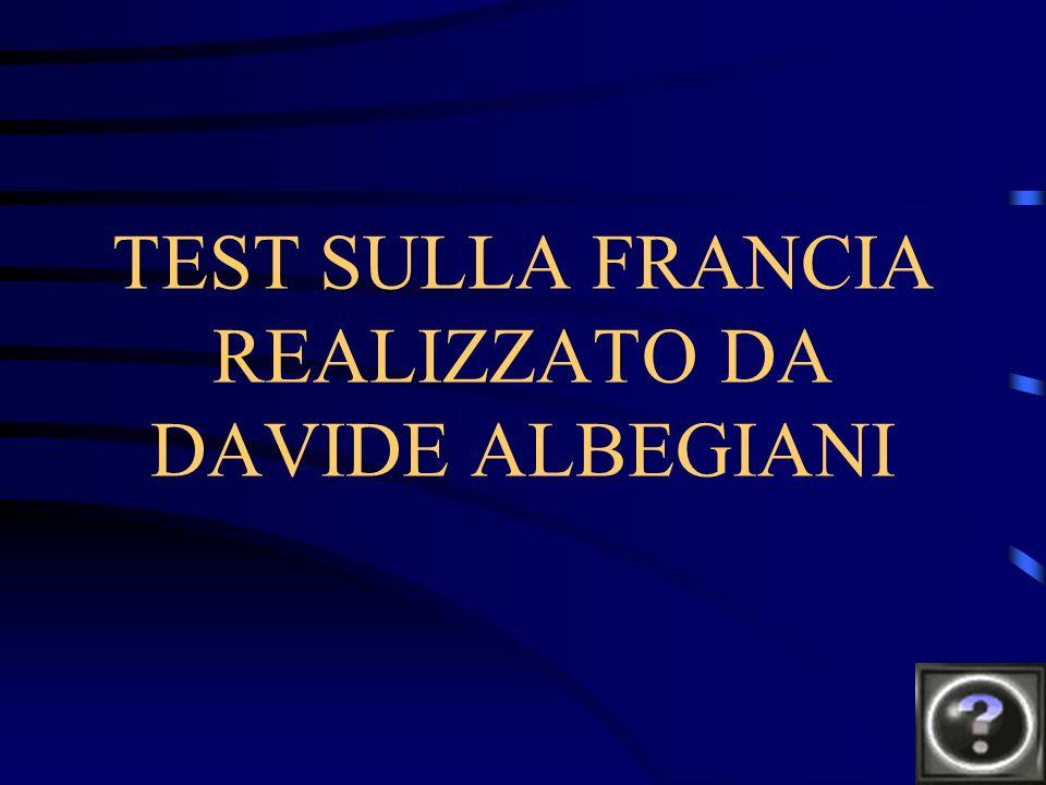 TEST SULLA FRANCIA REALIZZATO DA DAVIDE ALBEGIANI