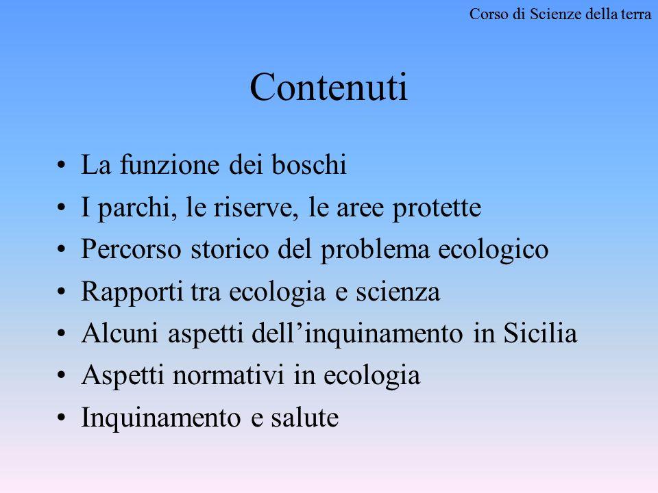Corso di Scienze della terra SCIENZE DELLA TERRA LAmbiente Naturale Siciliano e il Problema dellInquinamento Anno scolastico 2002 - 2003 Istituto Statale dArte –Cefalù (PA)