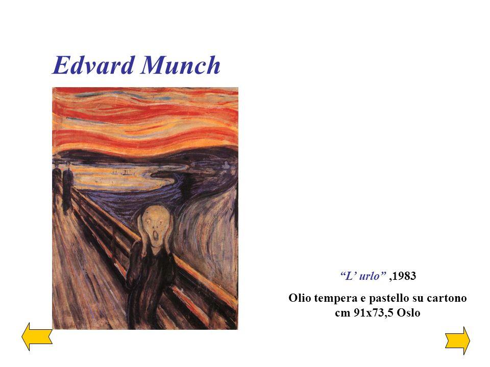 Il racconto dell anima, La supremazia della forma Edvard Munch E la rappresentazione dello spirito La malattia, la follia e la morte erano gli angeli neri che si affacciavano sulla mia culla.... [Edvard Munch]