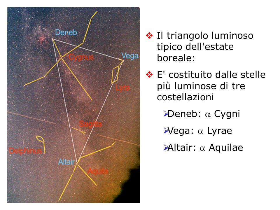 Tipica la croce della costellazione del Cigno(Cygnus) E raffigurato con il corpo proteso e le ali spiegate