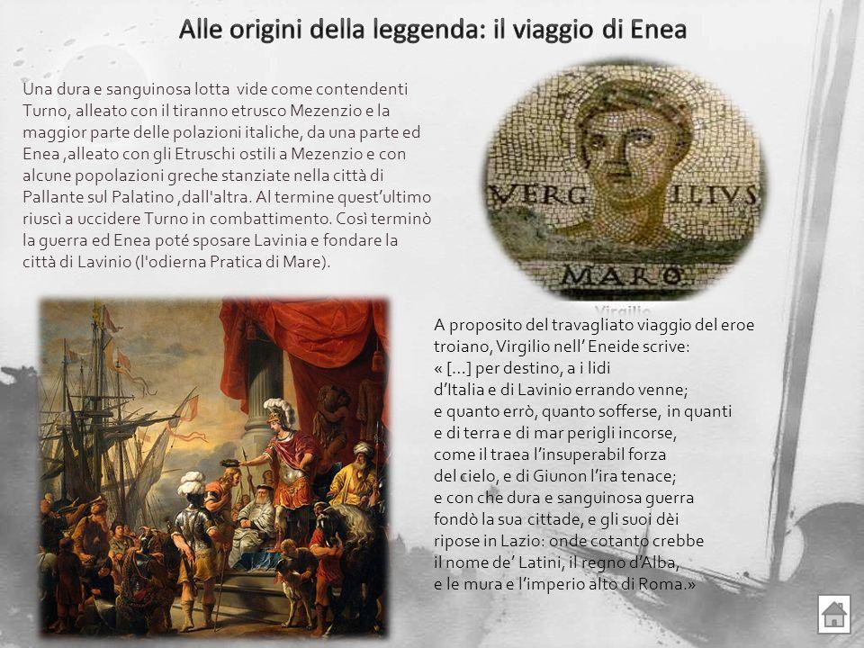 Una dura e sanguinosa lotta vide come contendenti Turno, alleato con il tiranno etrusco Mezenzio e la maggior parte delle polazioni italiche, da una p