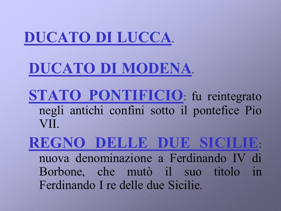 DUCATO DI MODENA.