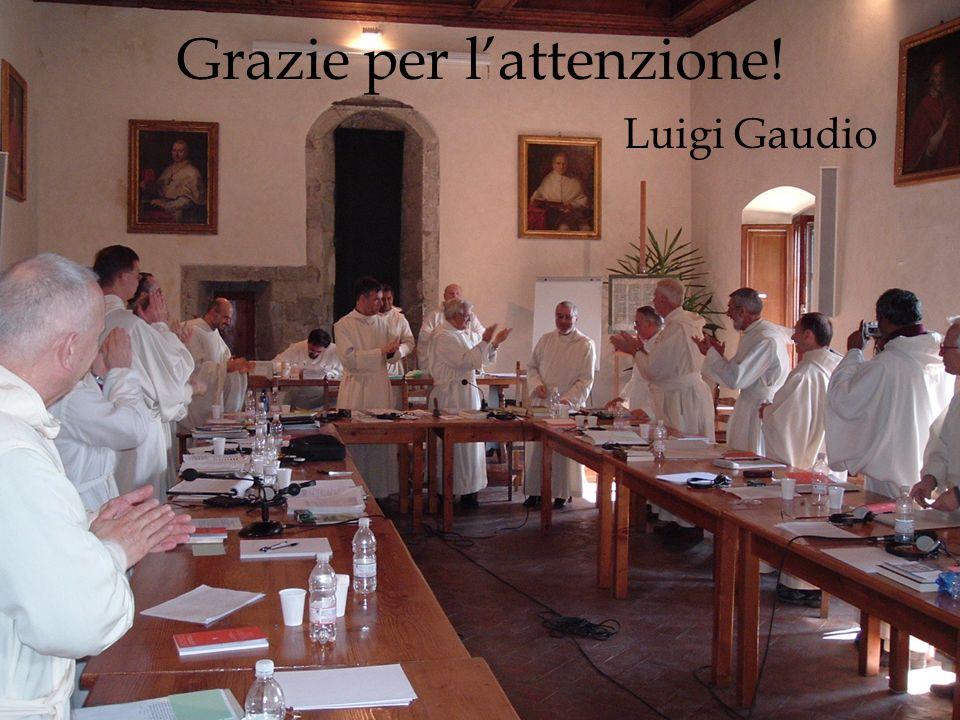 Grazie per lattenzione! Luigi Gaudio