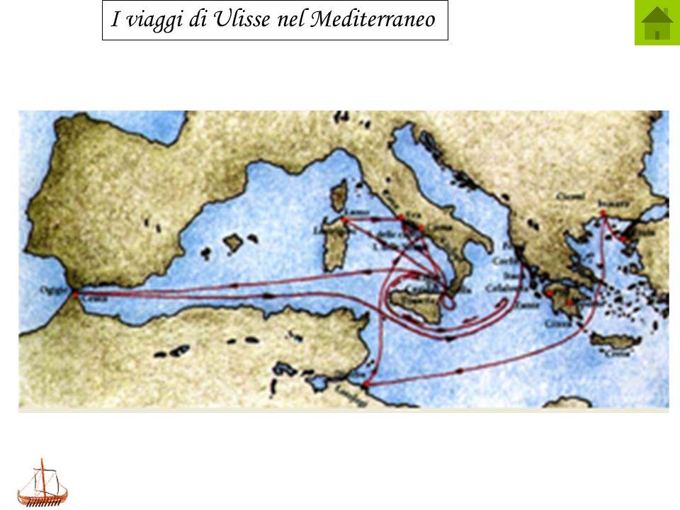 I viaggi di Ulisse nel Mediterraneo