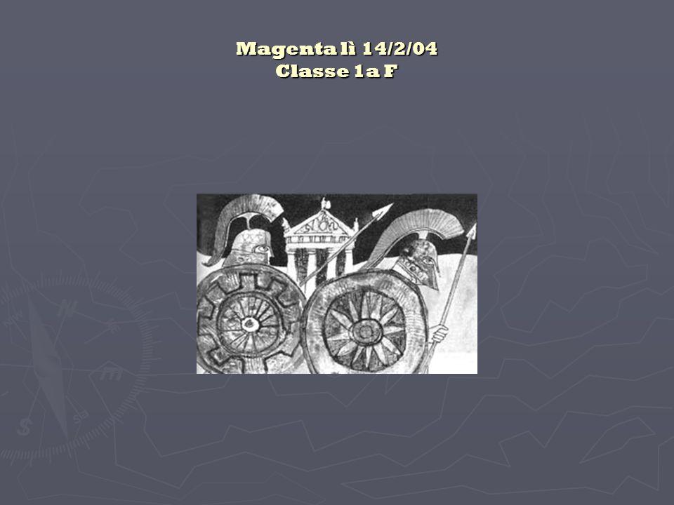 Magenta lì 14/2/04 Classe 1a F