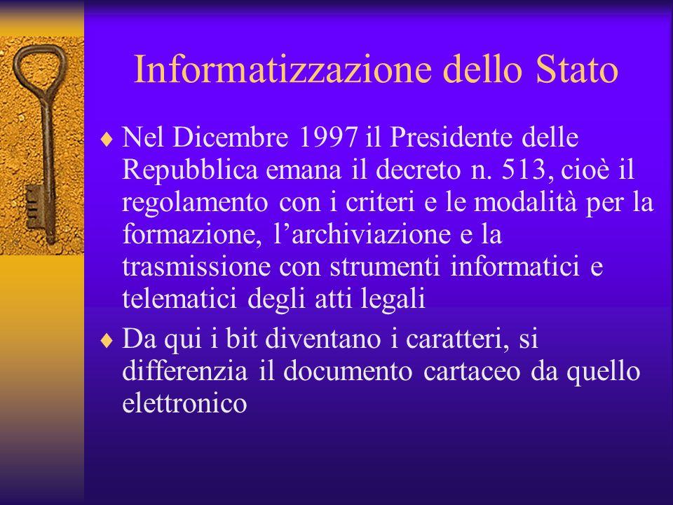 La riforma Bassanini Legge 59 del 15-Marzo 1997 Snellimento dellattività amministrativa a carico dello stato, spostamento dei poteri di controllo e de