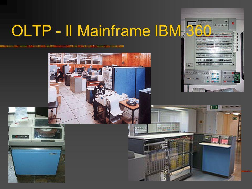 OLTP – Il Mainframe IBM 370