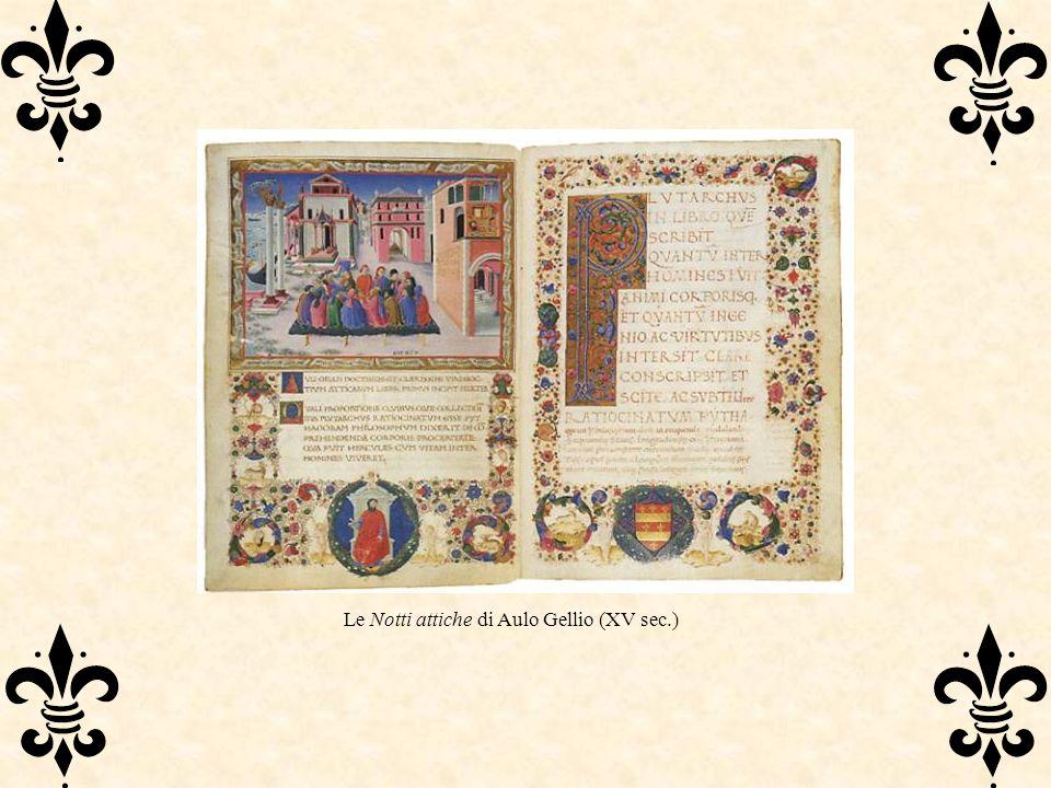 Le Notti attiche di Aulo Gellio (XV sec.)