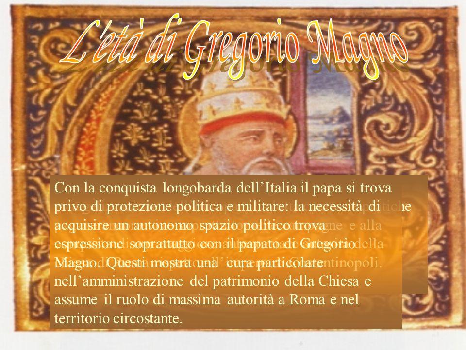 Il pontificato di Gregorio dà un rigoroso impulso alla evangelizzazione dellEuropa, alla lotta contro le pratiche pagane ancora vive soprattutto nelle campagne e alla conquista di una maggiore autonomia e autorità della chiesa di Roma rispetto allimpero di Costantinopoli.
