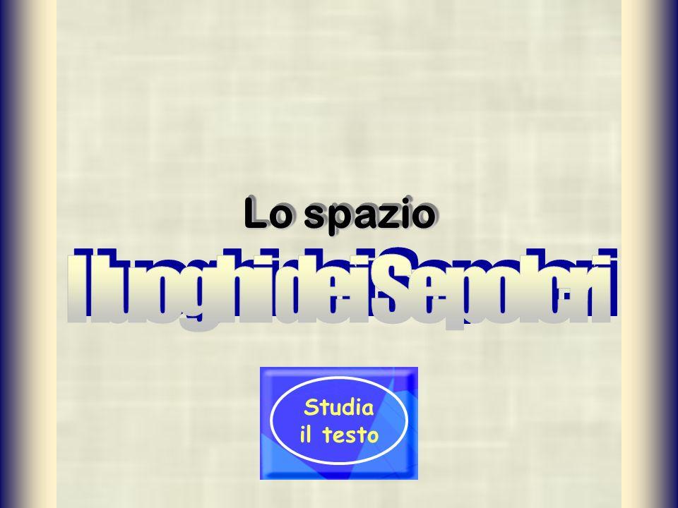Lo spazio Studia il testo
