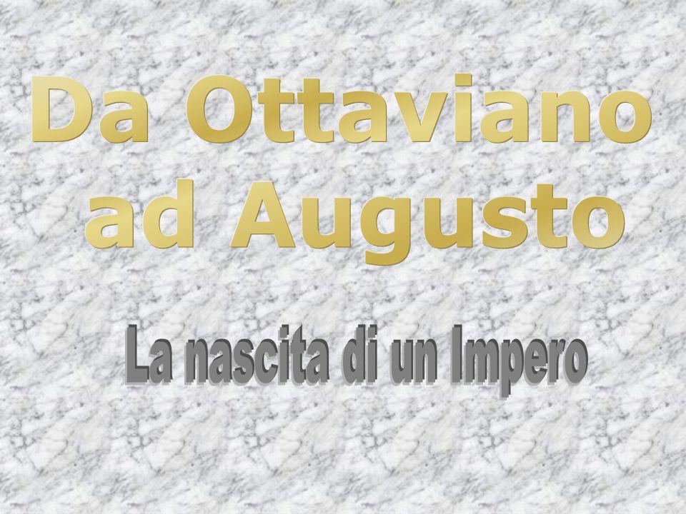 Ottaviano rifiutò le cariche di dittatore e di console a vita per non assumere titoli estranee alla tradizione.