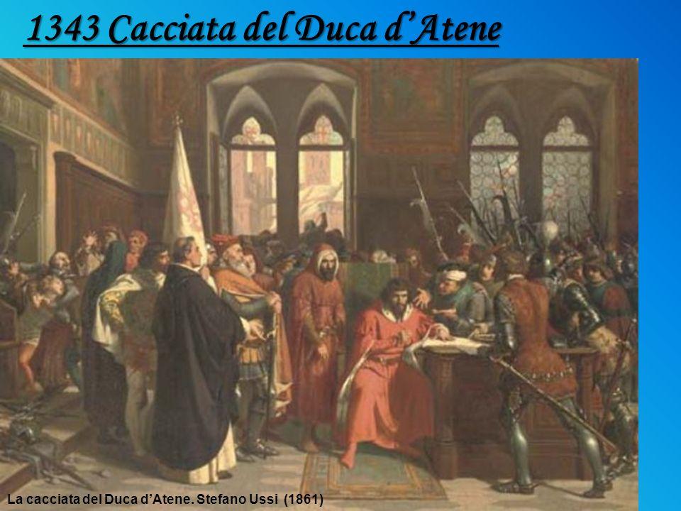 La cacciata del Duca dAtene. Stefano Ussi (1861) 1343 Cacciata del Duca dAtene