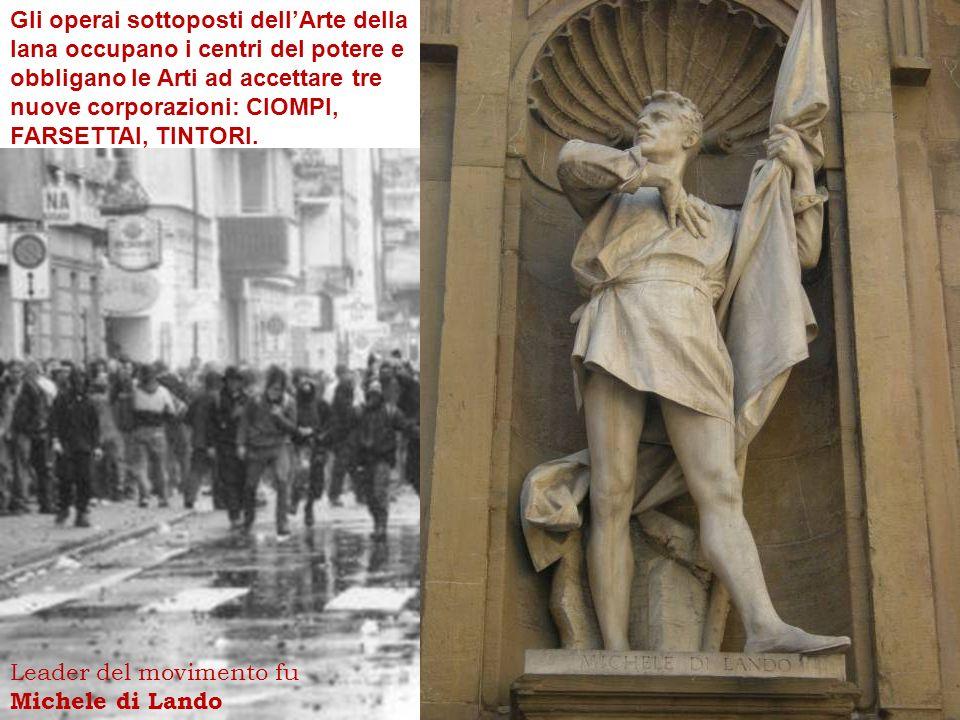 Conquiste della repubblica di Firenze Arezzo 1384 Montepulciano 1390 Pisa 1406 Cortona 1411 Livorno 1421