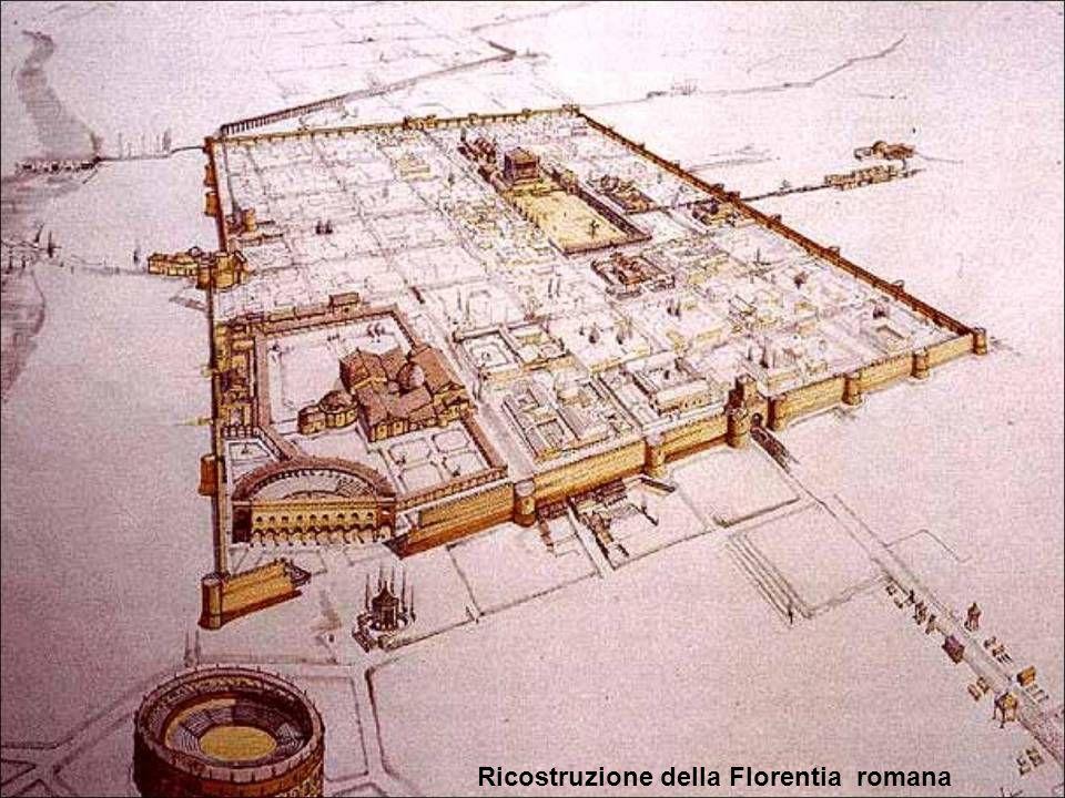 Ricostruzione del Ponte Vecchio del XV secolo. Fabio Borbottoni 1860 ca.