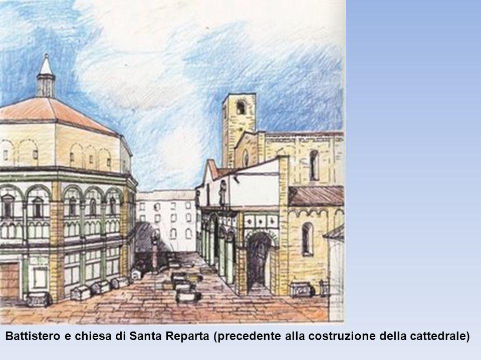 Battistero e chiesa di Santa Reparta (precedente alla costruzione della cattedrale)