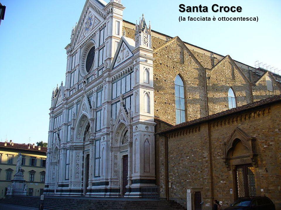 Santa Croce (la facciata è ottocentesca)