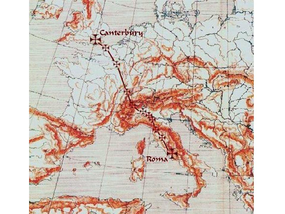 La via Francigena esclude Firenze dalla principale via di comunicazione