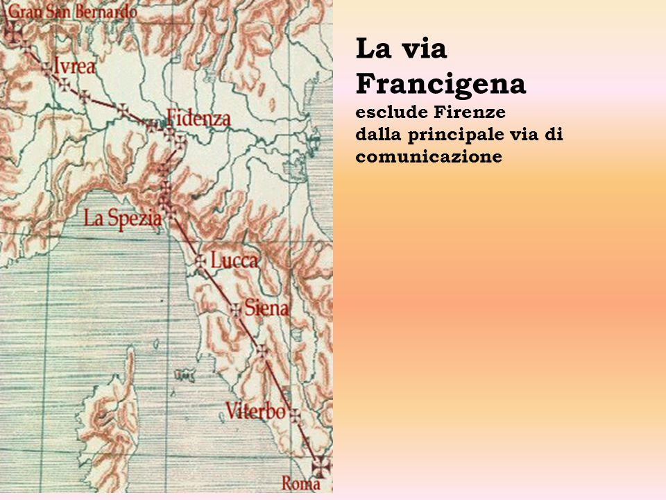 Ricostruzione di Firenze nel 200