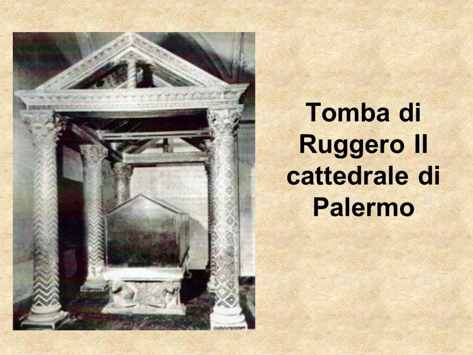 Tomba di Ruggero II cattedrale di Palermo