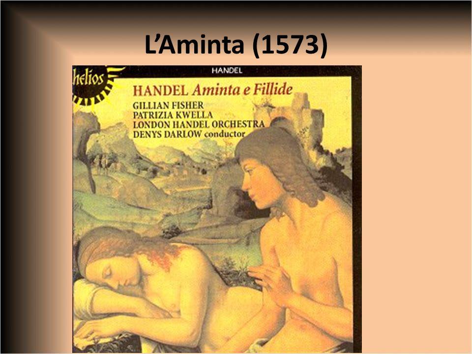 LAminta: la trama Prologo recitato da Amore Aminta ama Silvia non è corrisposto.