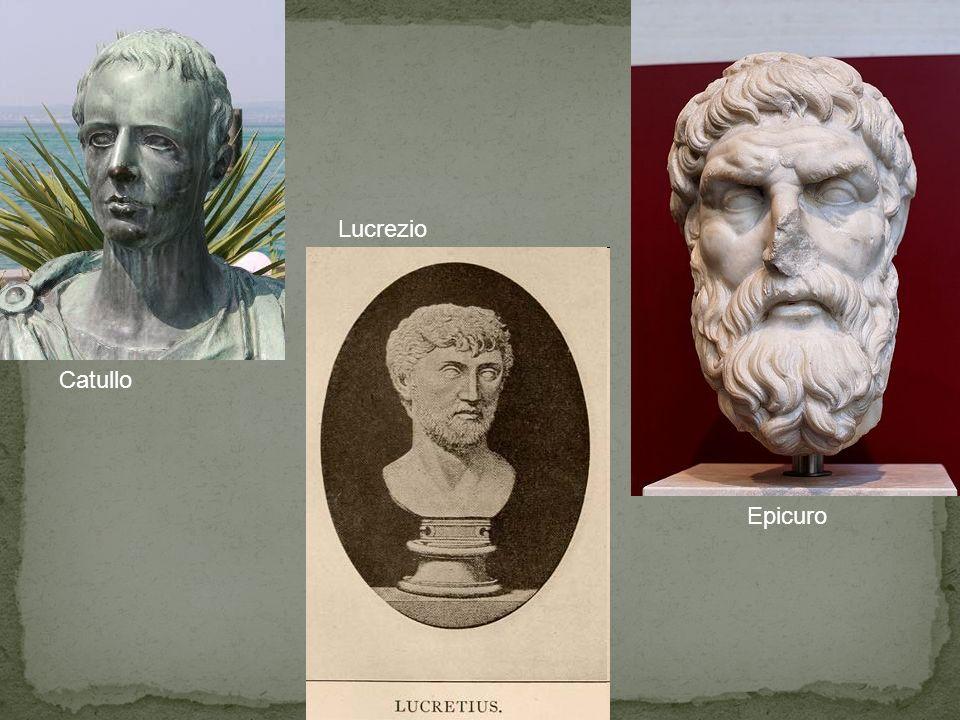 Catullo Epicuro Lucrezio