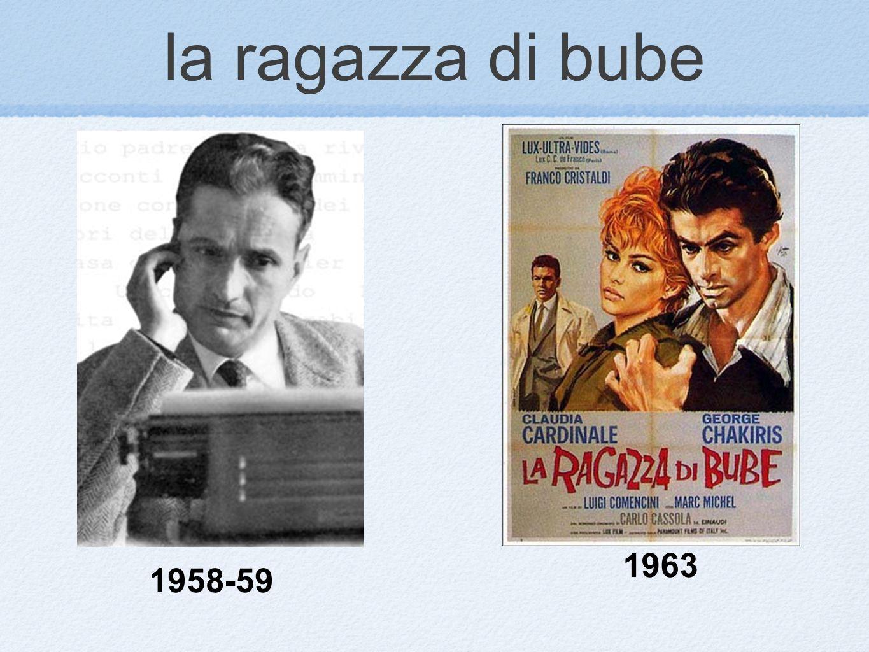 la ragazza di bube 1963 1958-59