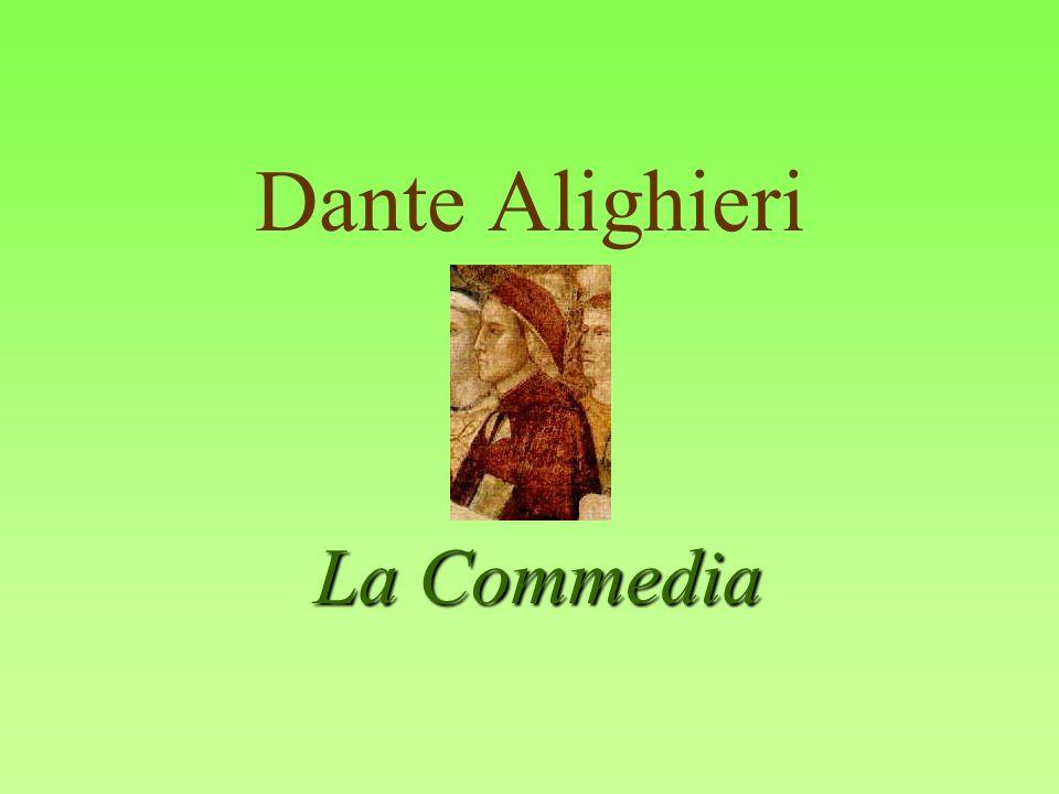 Dante Alighieri La Commedia