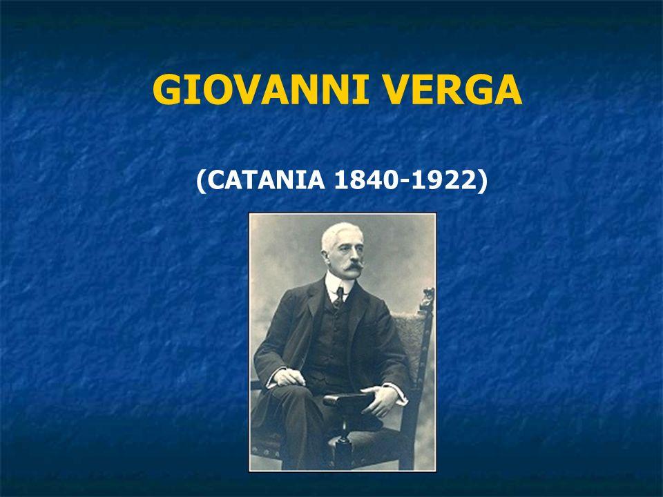 (CATANIA 1840-1922) GIOVANNI VERGA