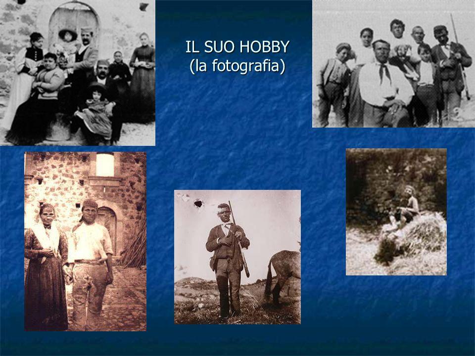 IL SUO HOBBY (la fotografia)