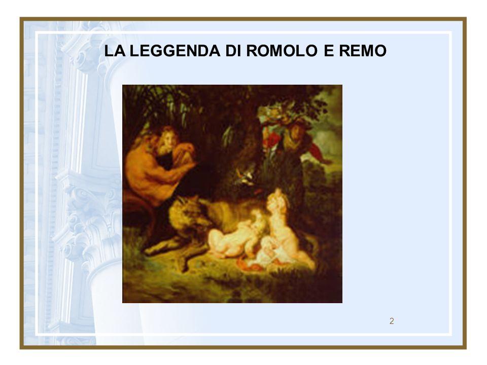 2 LA LEGGENDA DI ROMOLO E REMO