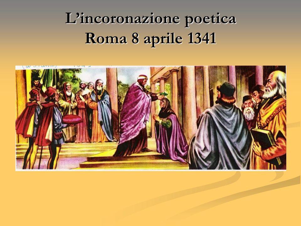 Lincoronazione poetica Roma 8 aprile 1341