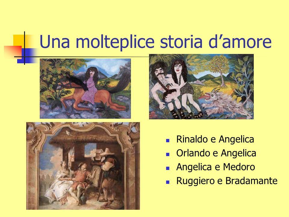 Un racconto darmi A Parigi Carlo Magno VS Agramante (Saraceni) e Marsilio (Spagnoli) A Lampedusa vittoria dei Cristiani Orlando Ruggiero Rinaldo