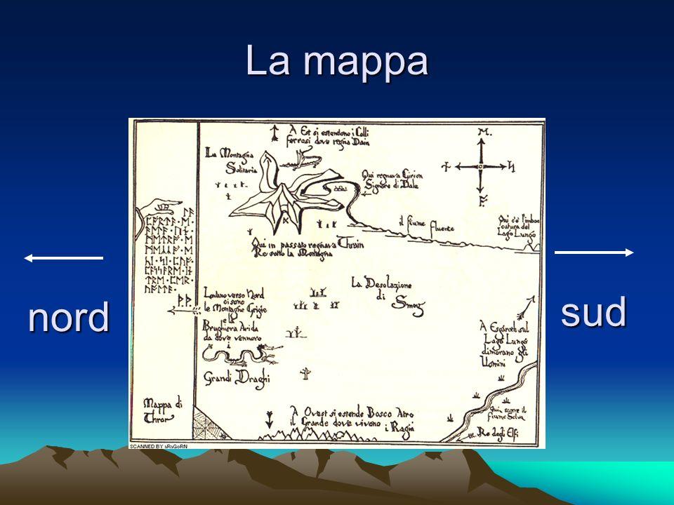 La mappa nord sud