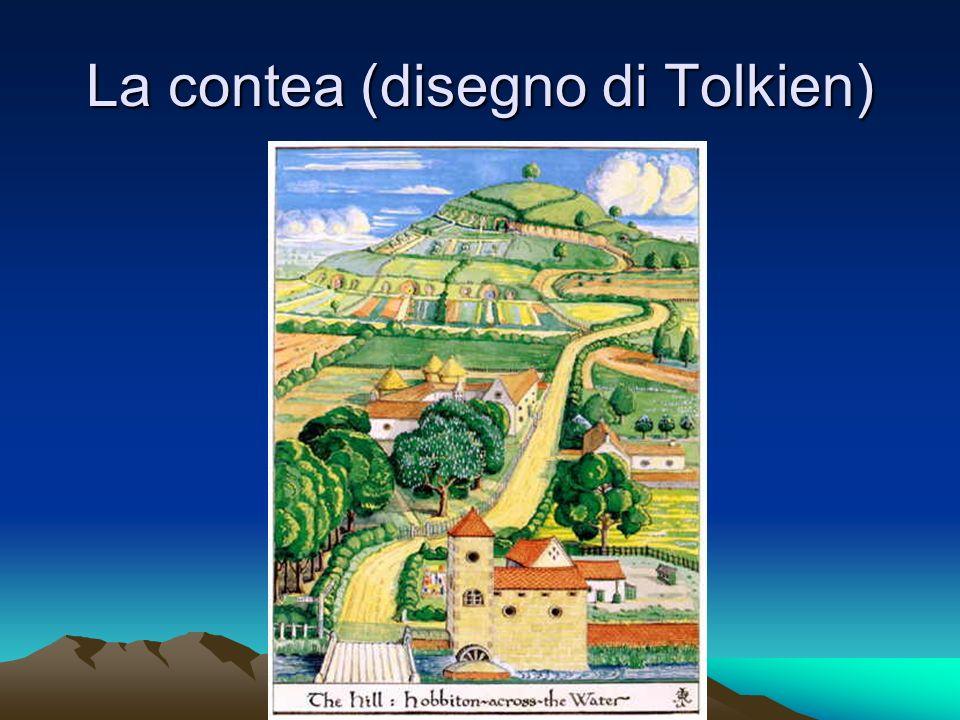 La contea (disegno di Tolkien)